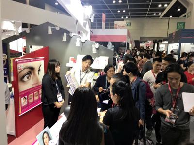 11月14日から16日まで香港のHKCECで開催されているCosmoprof Asia 2018に出展
