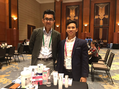 ベトナム・ホーチミンでの商談会「GOOD GOODS JAPAN 2018 JETRO BUSINESS MATCHING IN HO CHI MINH CITY,HANOI」に参加