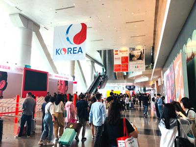 中国・香港のHKCECで開催されている「Cosmoprof Asia 2019」に出展