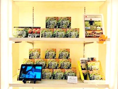 シンガポール高島屋にてDelish Organics Mulberry Leafが販売