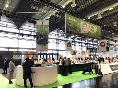 ドイツ・ニュルンベルクのNuremberg Messeで開催のヨーロッパ最大のオーガニック展示会「BIOFACH2020」に出展